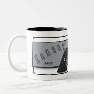 Bat Masterson Two-Tone Coffee Mug