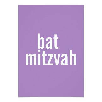 Bat Mitzvah Announcements {Purple}