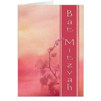 Bat Mitzvah Invitation Card