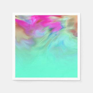 Bat Mitzvah Tye Dye Paper Napkins