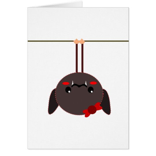 bat on a wire vampire card