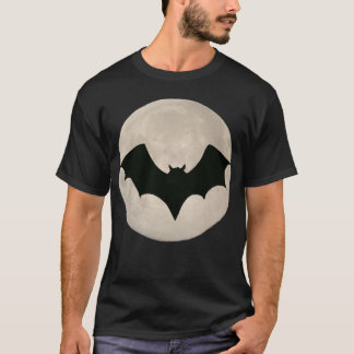 Bat over Full Moon T-Shirt