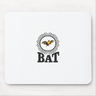 bat ring mouse pad