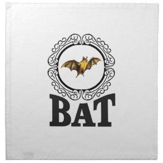 bat ring napkin
