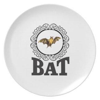 bat ring plate