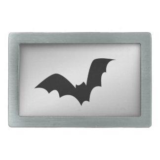 Bat Silver Belt Buckle