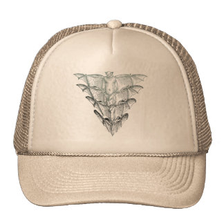 Bat Smoke Trucker Hat