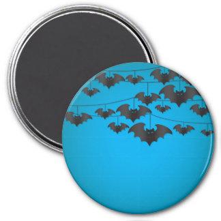 Bat string 3 inch round magnet