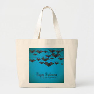 Bat string large tote bag
