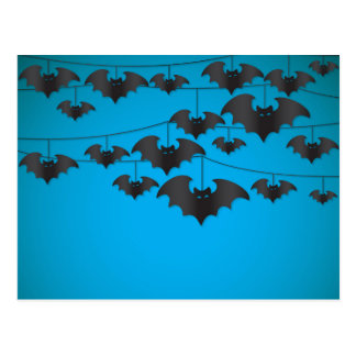 Bat string postcard