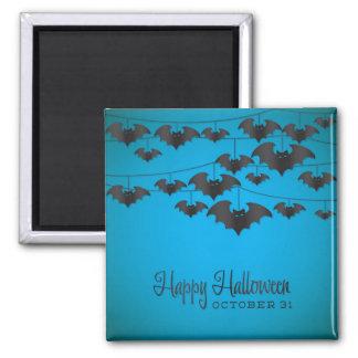 Bat string square magnet