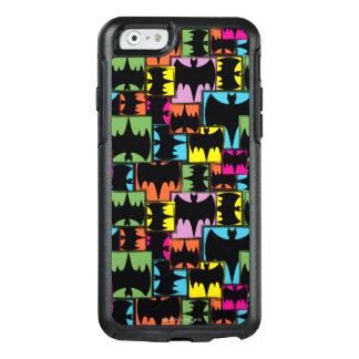 Bat Symbol Squares Pattern OtterBox iPhone 6/6s Case