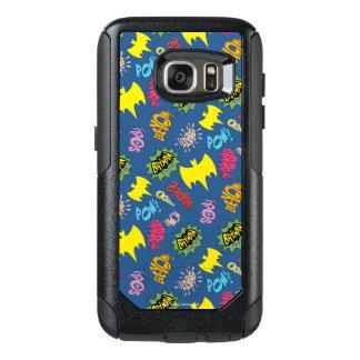 Bat Symbols Pattern OtterBox Samsung Galaxy S7 Case