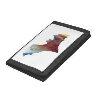 Bat Tri-fold Wallets