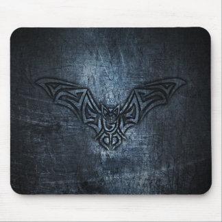 Bat Tribal Steel Metallic Mouse Pad