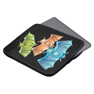 Bat Trio Laptop Sleeve