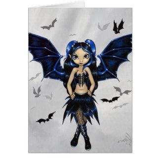 """Bat Wings"" Greeting Card"