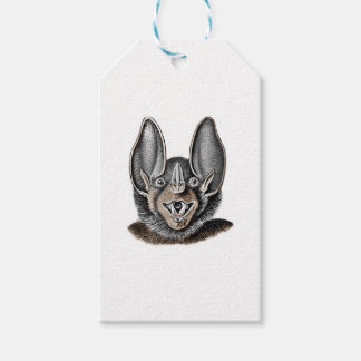 Bat with Big Ears Pack Of Gift Tags