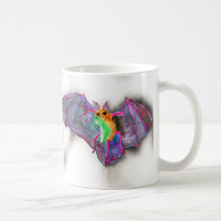 Bat with Dinner Coffee Mug