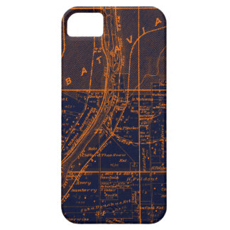 BATAVIA ILLINOIS 1871 MAP FOX RIVER VALLEY iPhone 5 CASES