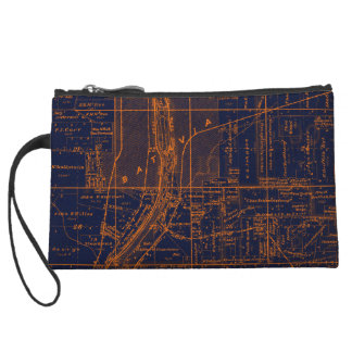 BATAVIA ILLINOIS 1871 MAP FOX RIVER VALLEY WRISTLET
