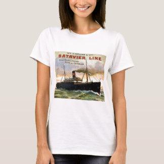 Batavier Line Vintage Travel T-Shirt