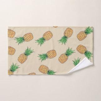 Batch of bath towels Pineapple