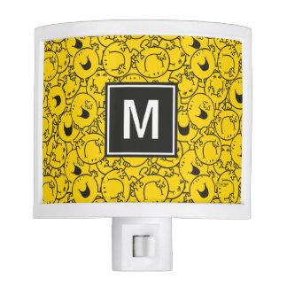 Batch of Yellow Smiles Pattern | Monogram Nite Lite