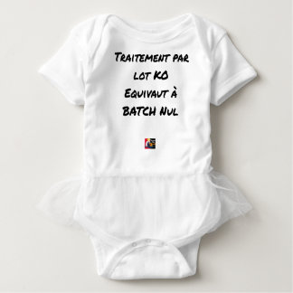 BATCH PROCESSING KB IS EQUIVALENT TO NULL BATCH BABY BODYSUIT