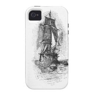 Bateau de pirate d'île de trésor coques iPhone 4/4S