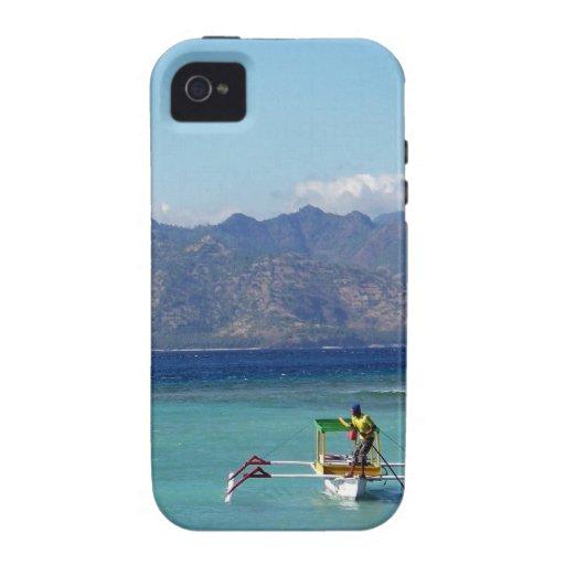 Bateau d'îles de Gili Coque iPhone 4