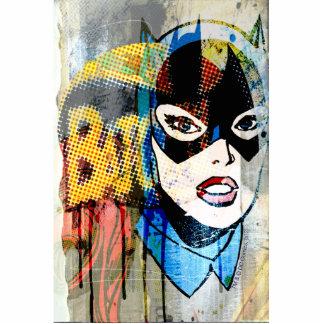 Batgirl Head Cut Outs