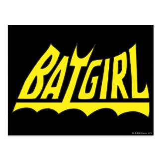 Batgirl Logo Postcard
