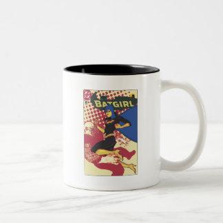 Batgirl Two-Tone Coffee Mug