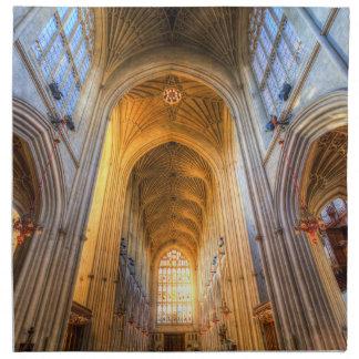 Bath Abbey Architecture Napkin