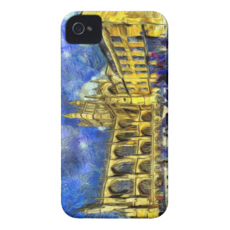Bath Abbey Art iPhone 4 Case