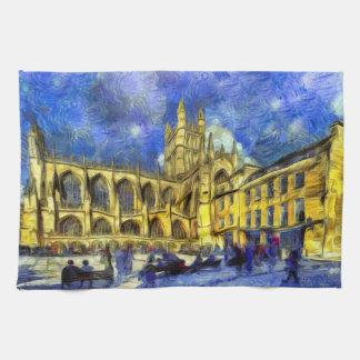 Bath Abbey Art Kitchen Towel