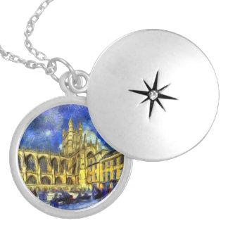 Bath Abbey Art Locket Necklace