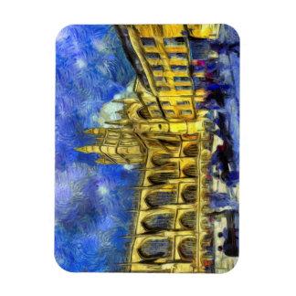 Bath Abbey Art Magnet