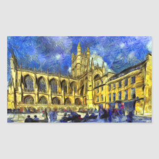 Bath Abbey Art Sticker