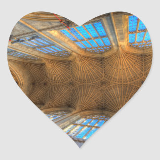 Bath Abbey Ceiling Heart Sticker
