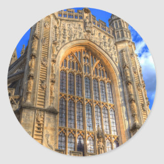 Bath Abbey Classic Round Sticker