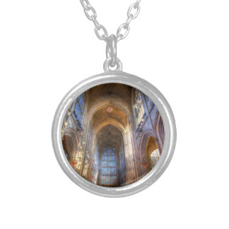 Bath Abbey Silver Plated Necklace