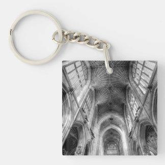 Bath Abbey Somerset England Keychain