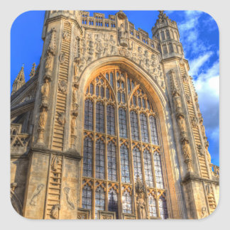 Bath Abbey Square Sticker