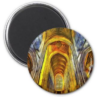 Bath Abbey Van Gogh Magnet
