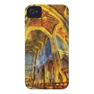 Bath Abbey Vincent Van Gogh iPhone 4 Covers