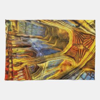Bath Abbey Vincent Van Gogh Kitchen Towel