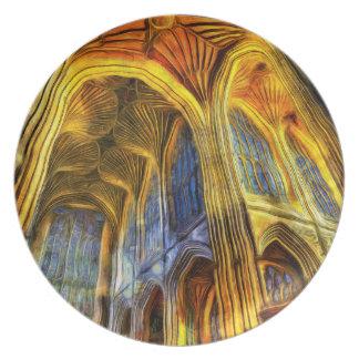 Bath Abbey Vincent Van Gogh Plate