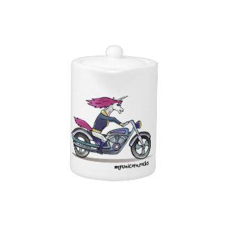 Bath ASS unicorn on motorcycle - bang-hard unicorn